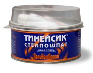 Автошпатлёвка стеклонаполненная «Тинейсик-Стеклошпат»