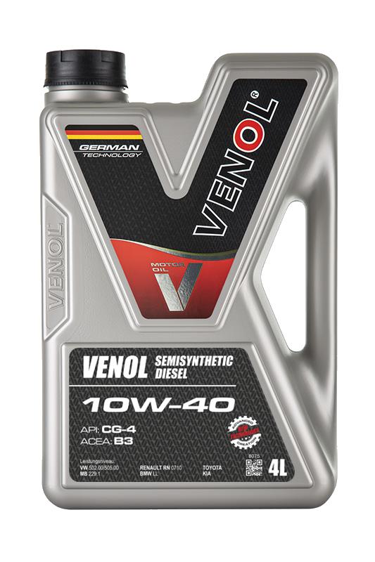 Olej-silnikowy-VENOL-Semisynthetic-Diesel-CG4-10W40_4L