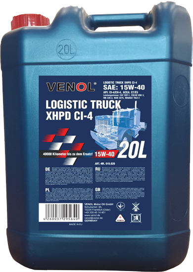 VENOL-Logistic-Truck-15W40